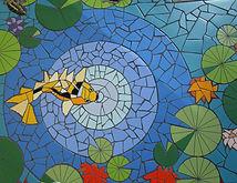 Koi Pond by ABQ Art Glass