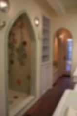 Mandala Shower by ABQ Art Glass