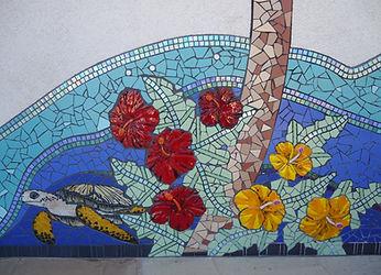 Mosaic turtle by ABQ Art Glass
