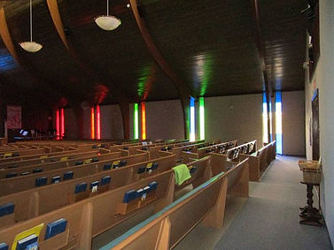 Westminster Presbyterian Church stained glass repair, Roswell NM, by ABQ Art Glass