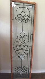 Clear Victorian stained glass repair