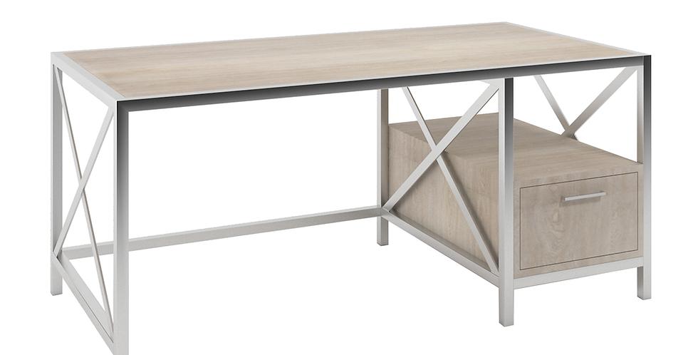 Contemporary Desk with Storage