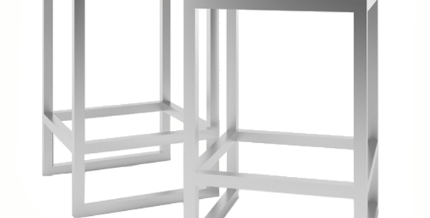 Contemporary High Stool