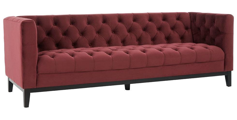 Sasha 3 Seater Velvet Sofa
