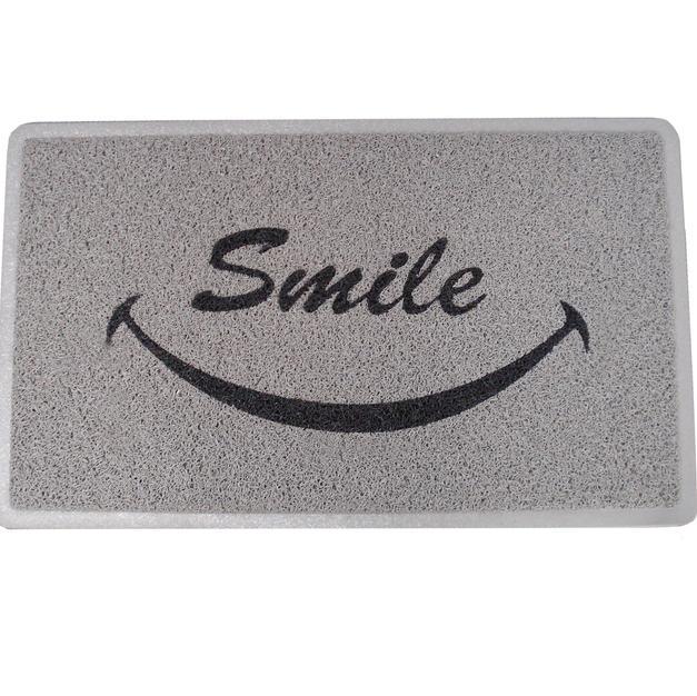 2'x3' Gray Smile Mat