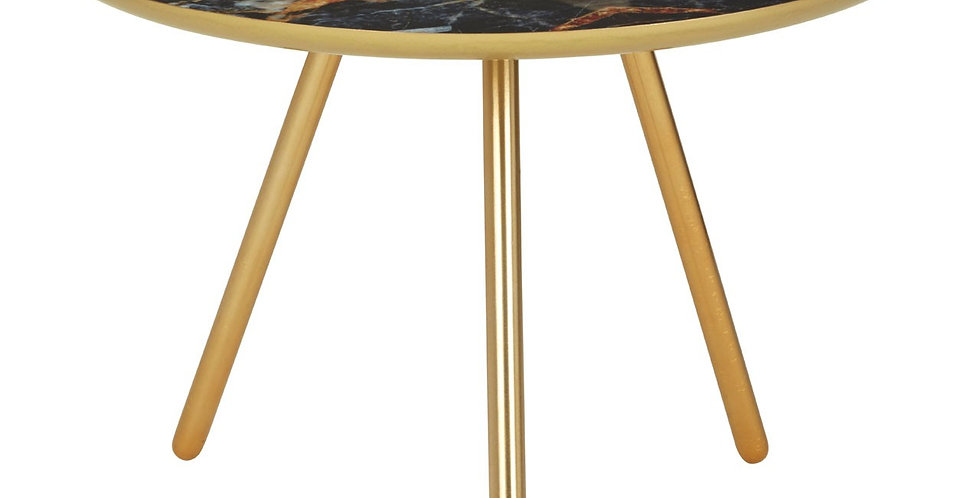Marlox Faux Marble Side Table