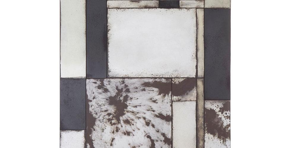 Riza Mosaic Asymmetric Wall Mirror