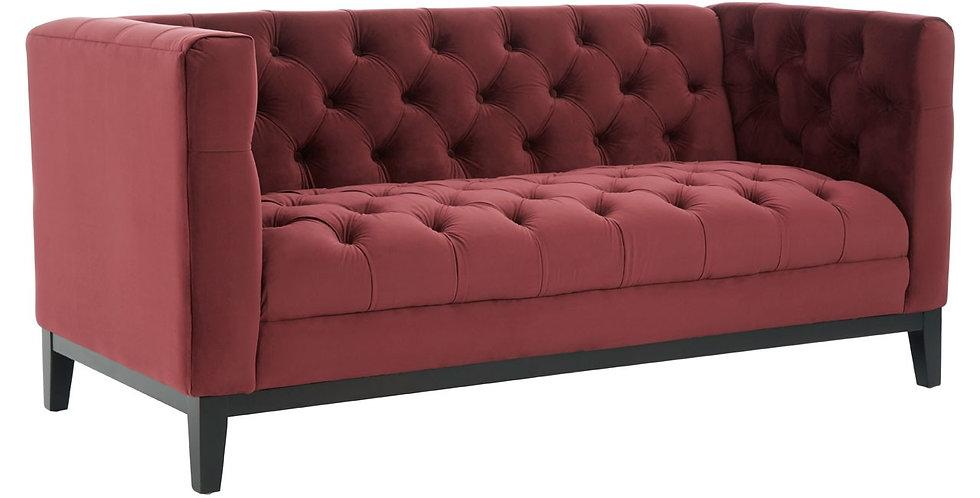 Sasha 2 Seater Velvet Sofa