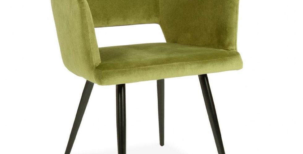 Green Velvet Harrod Chair
