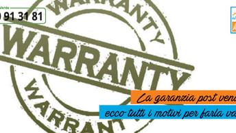 La garanzia post-vendita: tutti i motivi per farla valere