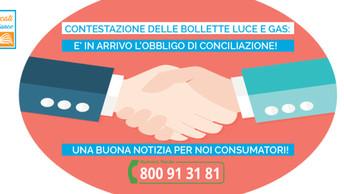 Luce e gas. Contenziosi tra aziende e clienti obbligatoria la conciliazione.