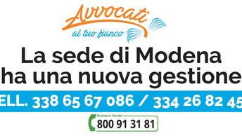 La sede di Modena ha una nuova gestione
