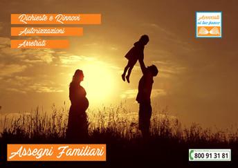 Assegno familiare: importo e a chi spetta