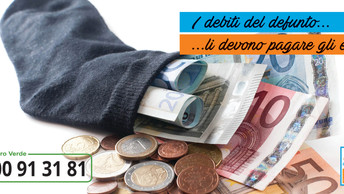I debiti del defunto passano agli eredi?