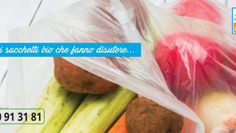 I nuovi sacchetti bio che fanno discutere