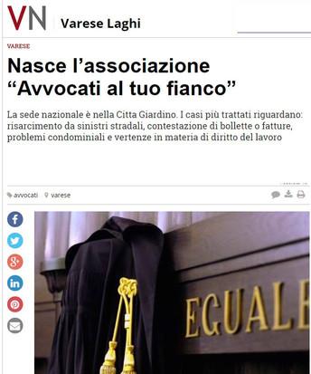 Varese News parla di noi!