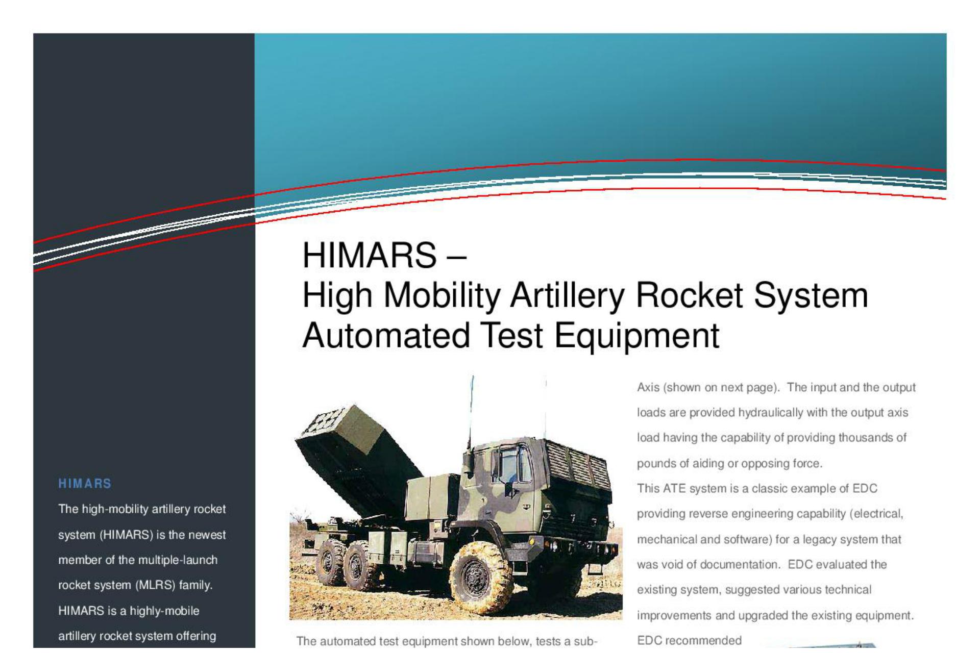 HIMARS Brochure