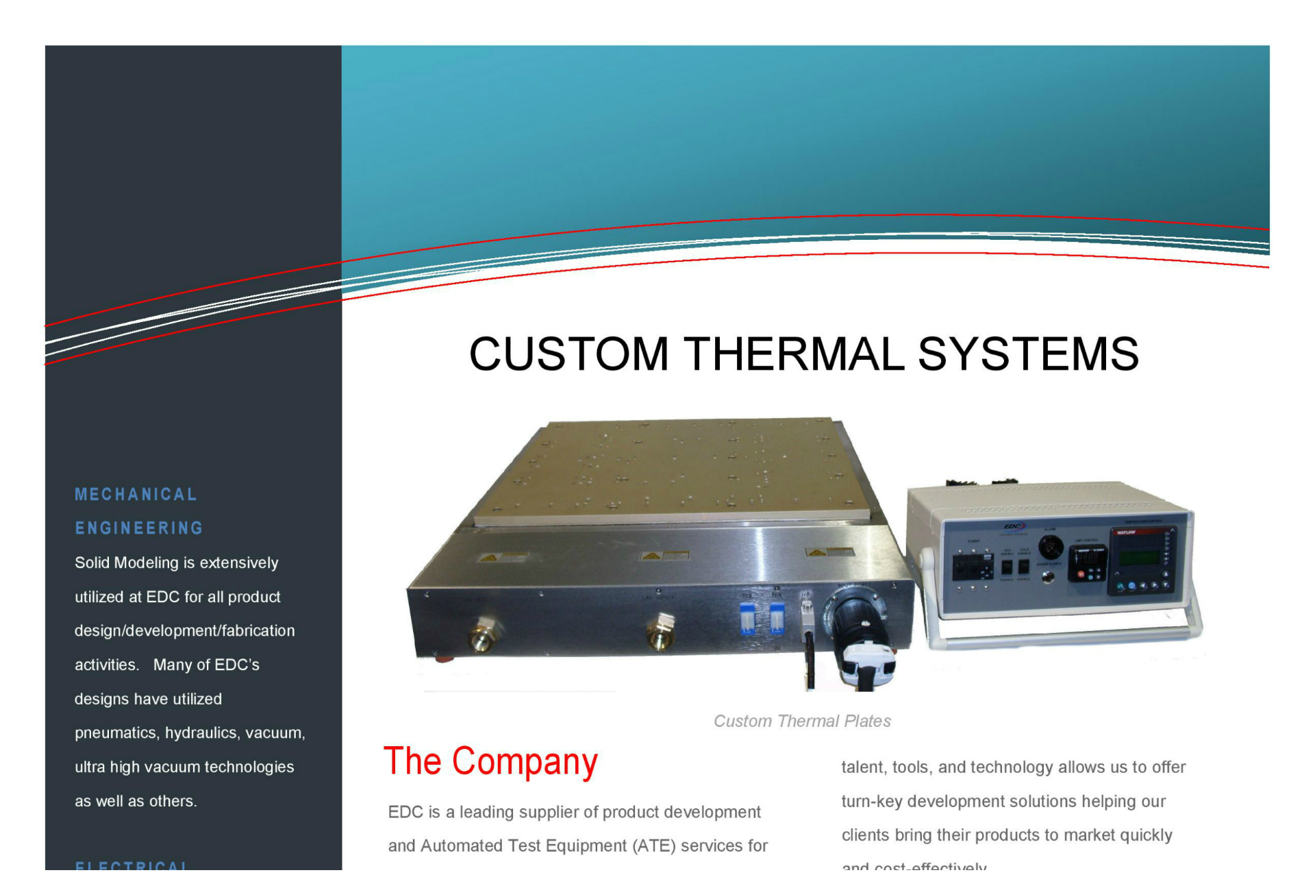 Custom Thermal System Brochure