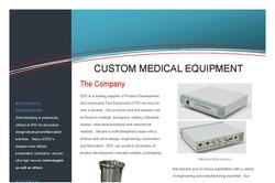 Custom Medical Equipment Brochure