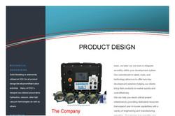Product Design Brochure