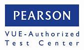Pearson VUE Authorized Test Center logo-