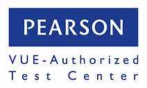 Pearson VUE Authorized Test Center logo-