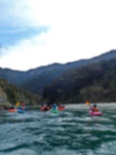 Group on the upper Ngaruroro river