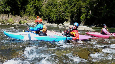 Kayakers stuck on the upper Ngaruroro river