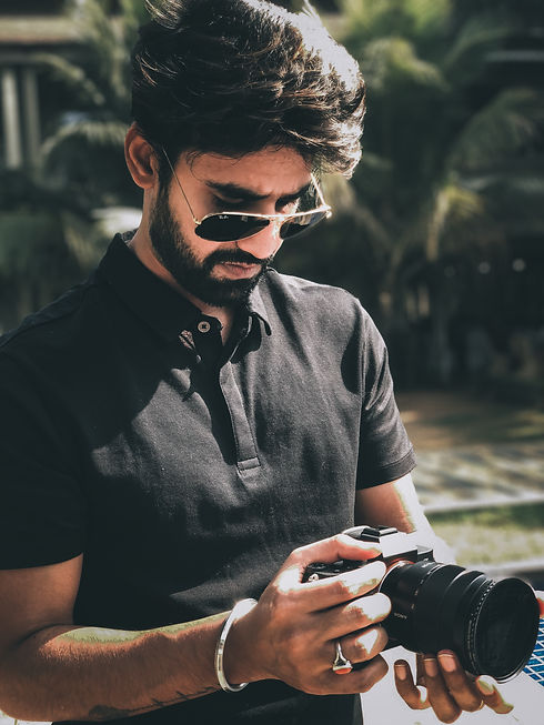 Aman Agrawal with Sony a7iii