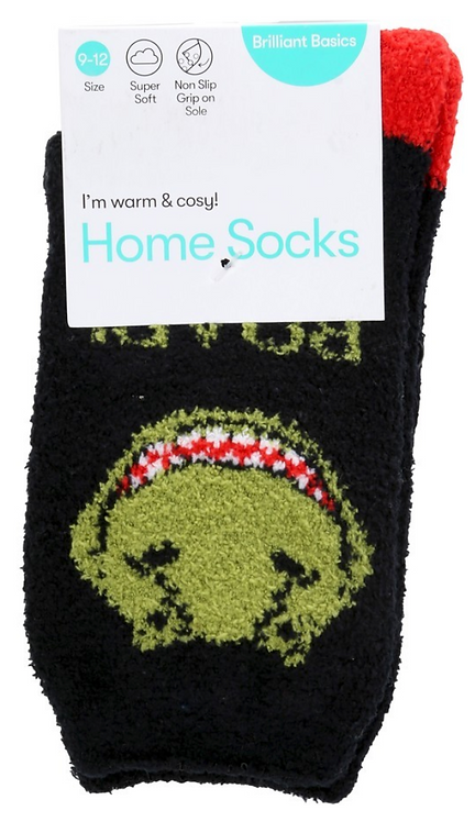 Boy's Home Socks- Dinosaurs