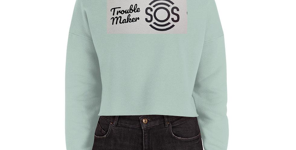 TM S.O.S Crop Sweatshirt