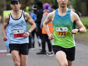 Club Runners in action at Battersea Park