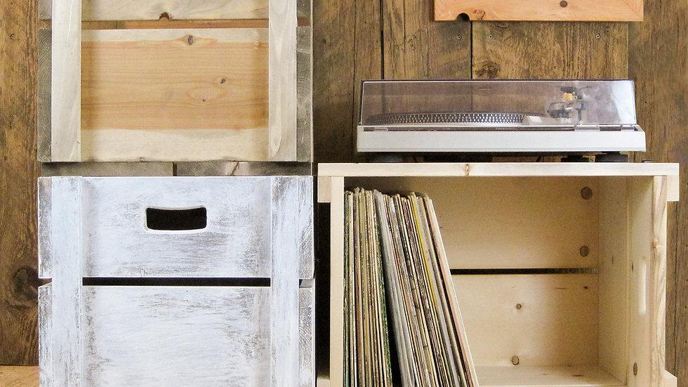 Old Funk LP crate