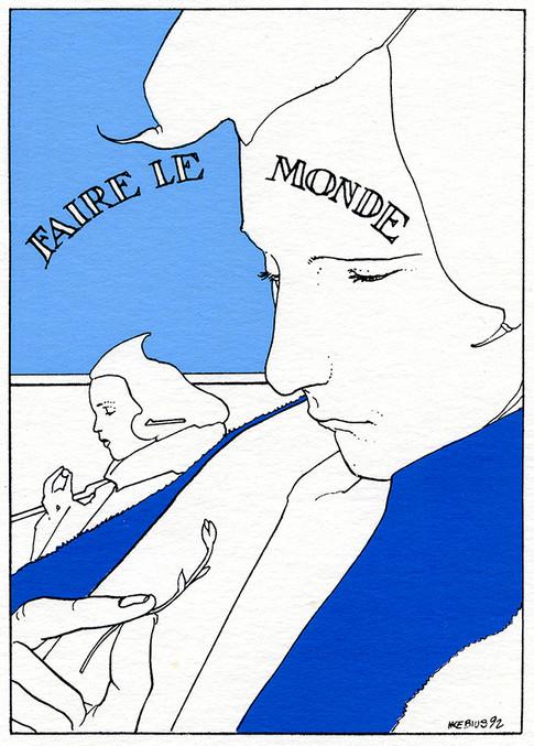 ilustración_1992_MOEBIUS-Faire_le_Monde.