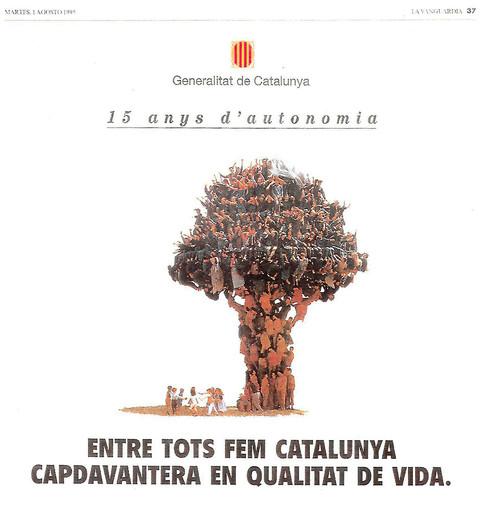 1995-Arbol_15 anys d'autonomia_Generalit