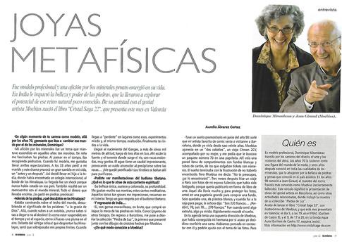 Revista TU MISMO entrevista a Dominique
