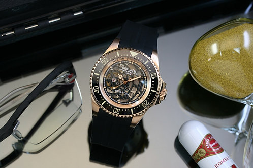 SMS1001S Rosegold PVD - Limited 175 pcs