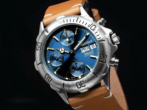20 ATMOS Corallo Chronograph Blue Ref. 2006 - NOS