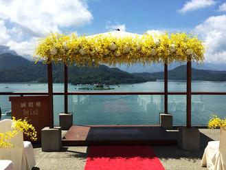 涵碧樓。日月潭最美的婚禮