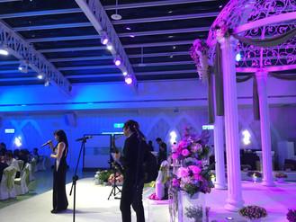 婚禮演出紀錄-兩個廳兩組樂團