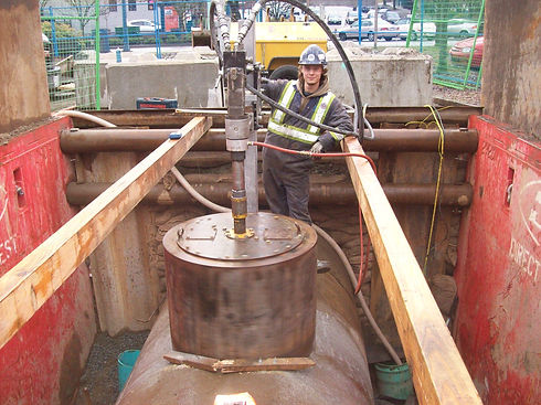storm sewer manhole retrofit port moody