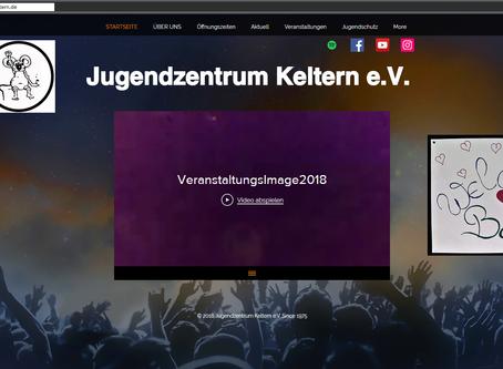 Neue Homepage erstrahlt im Glanz