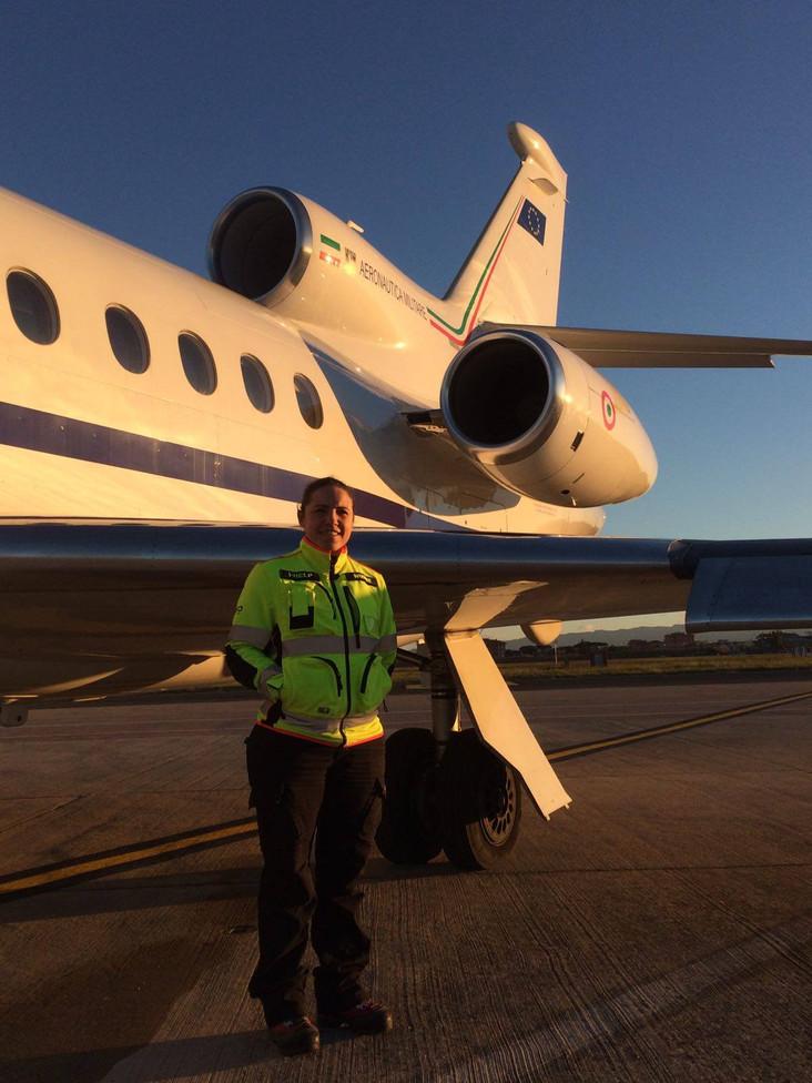 Volo sanitario con Équipe medica I-HELP: Inghilterra-Catania