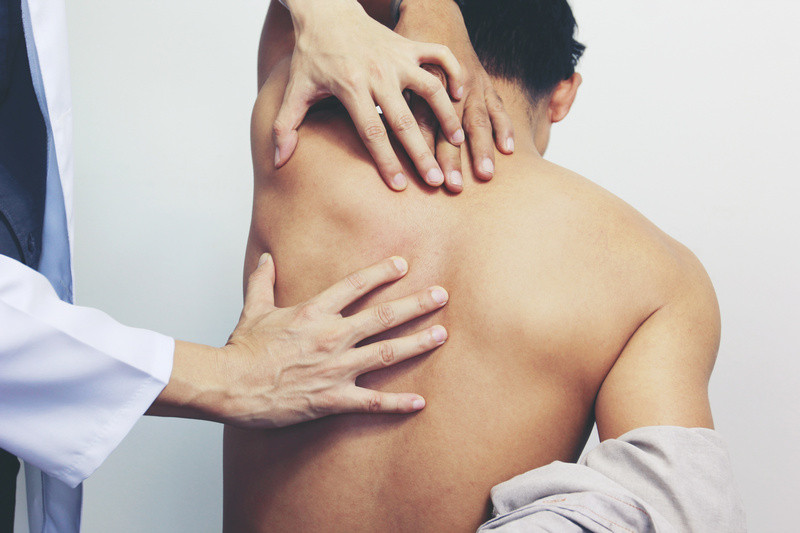Fast relief of upper back pain