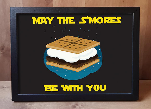 May the S'mores Be With You