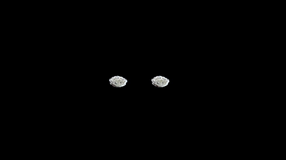 Piercing ojito plata