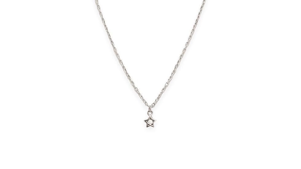 Collar mini estrella con zirconia
