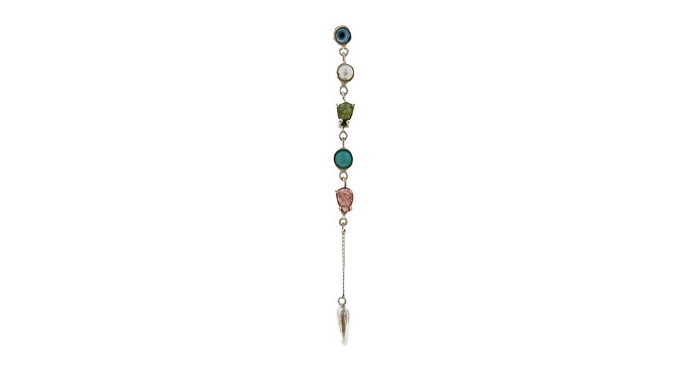 Mono Earring Krystalos ojito mini