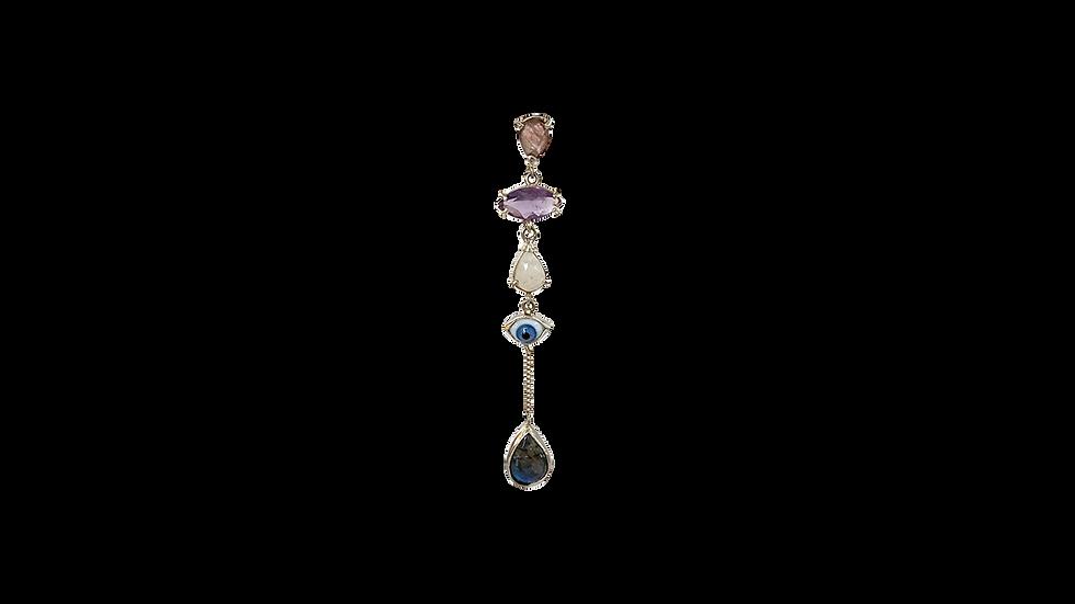 Mono Earring Krystalos Ojo