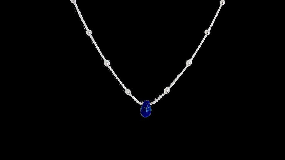 Collar Birthstone Lapislázuli